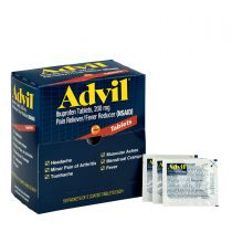 Advil Ibuprofen Medication, 50 Doses of Two Tablets, 200 mg