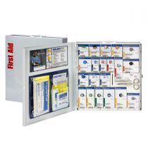 50 Person Large Metal SmartCompliance First Aid Cabinet without medications