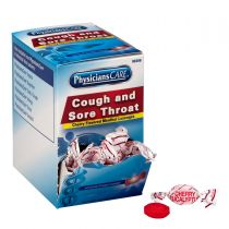Cherry Flavor Cough & Throat Lozenges, 50x1 per Box