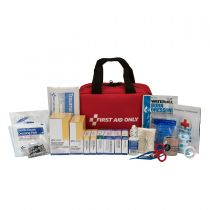 50 Person Bulk Fabric First Aid Kit, ANSI Compliant