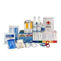 2 Shelf First Aid Refill with Medications, ANSI Compliant