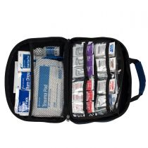 50 Person, ANSI A+ 216-piece Fabric Hardshell First Aid Kit