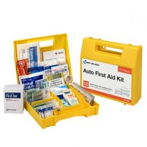 Vehicle First Aid Kit, 137 Piece, Plastic Case