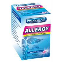 PhysiciansCare Antihistamine Allergy Medication, 50 Doses