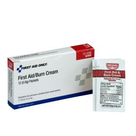 First Aid Burn Cream, 12 Per Box